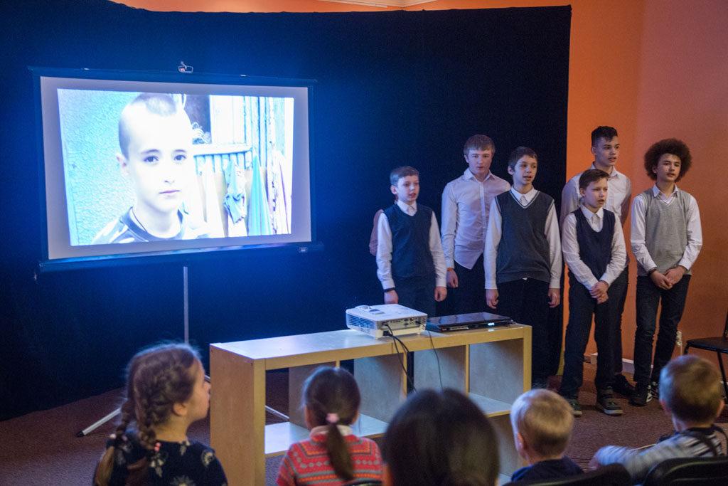 В Воскресной школе храма святителя Николая в Покровском прошла встреча с воспитанниками детского дома «Павлин»