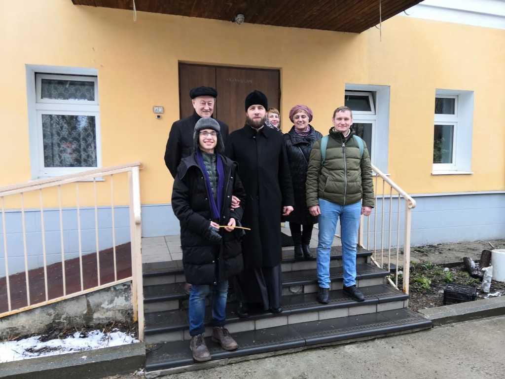 В гостях у православных подопечных центра ордена «Миссионеры милосердия»