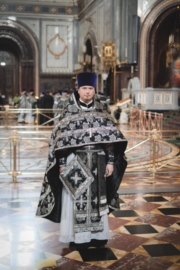Протоиерей Кирилл Сладков удостоен богослужебно-иерархической награды — права ношения палицы