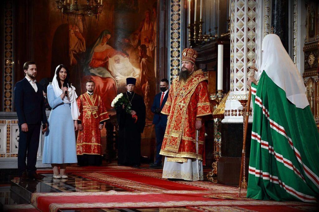 Поздравление Святейшего Патриарха с праздником Пасхи