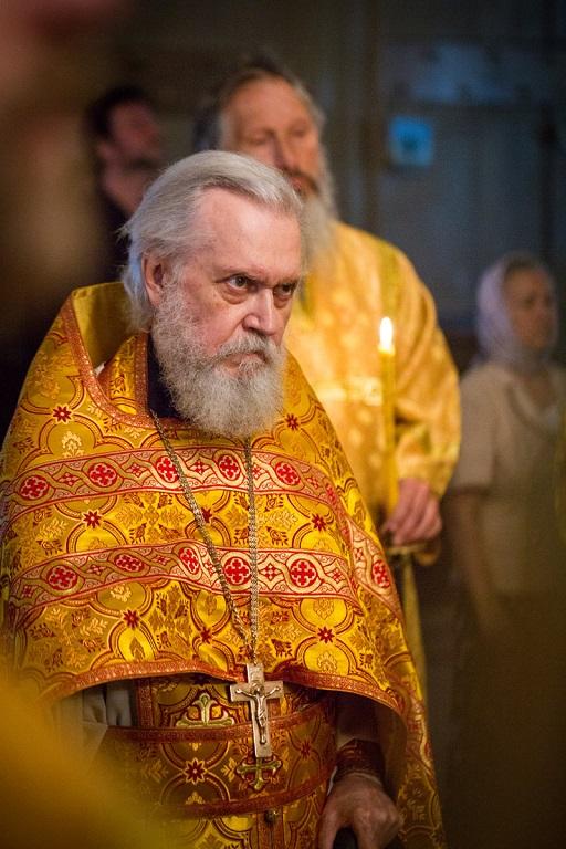 Юбилей настоятеля храма Рождества Христова в Измайлове протоиерея Леонида Ролдугина