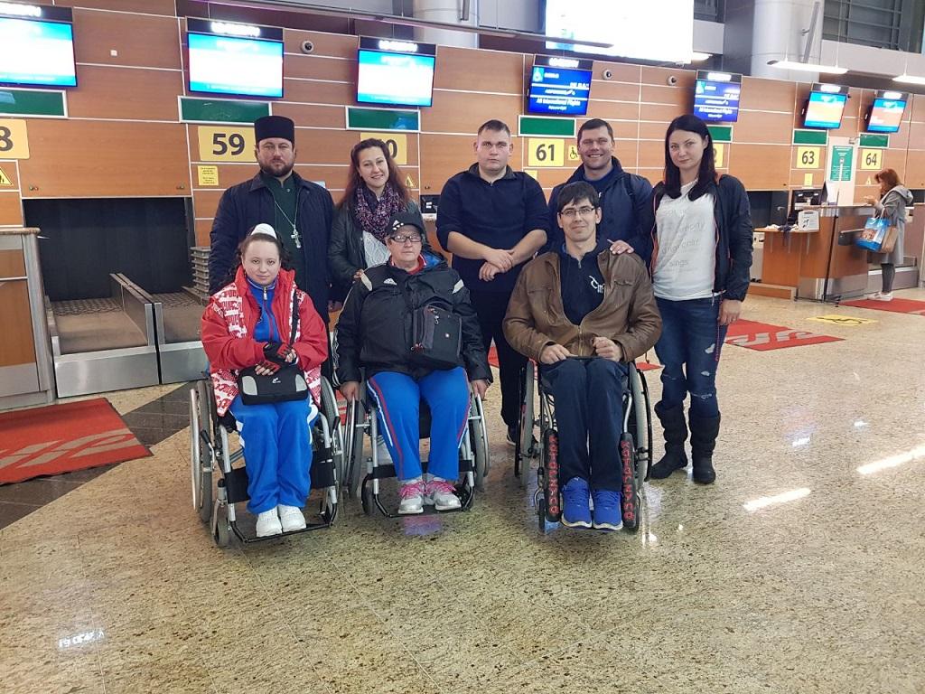 Члены сборной России по пара-карате получили благословение перед участием в очередных соревнованиях
