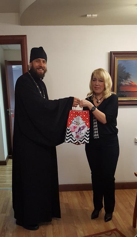 Руководителя ЦСО Басманного района поздравили с праздником Успения Божией Матери