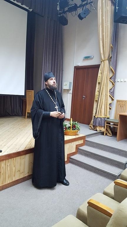 25/07/2017 Протоиерей Павел Кондраков посетил ЦСО Басманного района