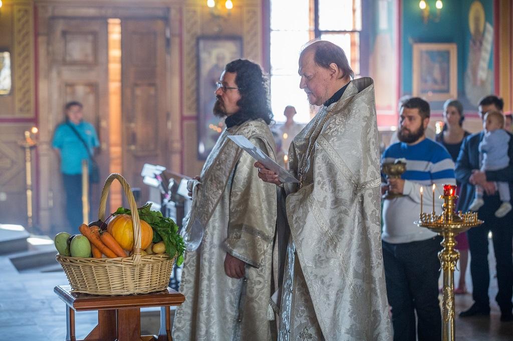 19/08/2017 Преображение Господне в храме святителя Николая в Покровском