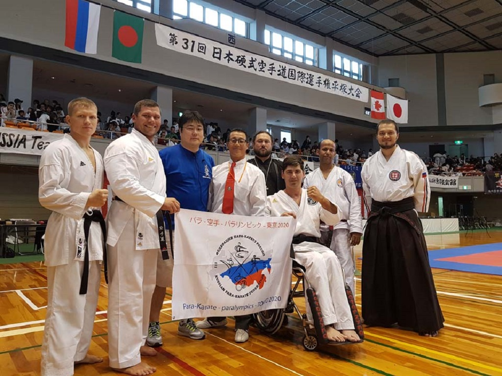 Иерей Георгий Дехтярёв сопровождал российских спортсменов на чемпионате по Косики карате в Японии