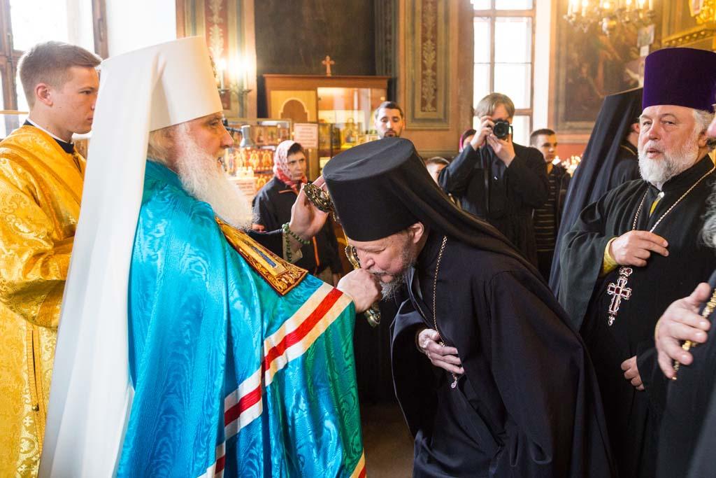 Божественная литургия в день тезоименитства митрополита Истринского Арсения