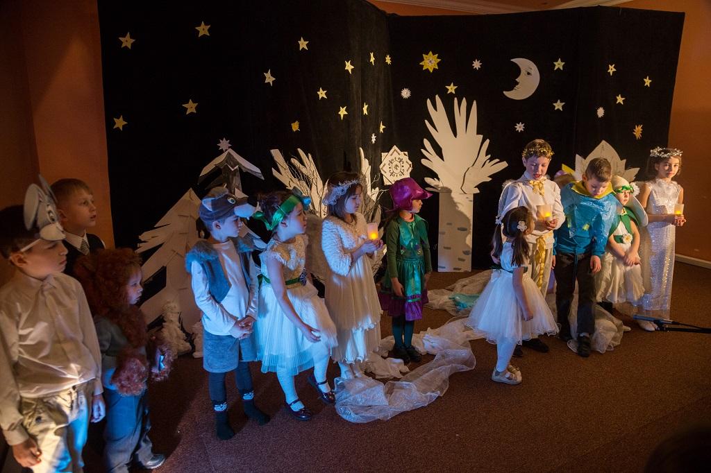 Рождественский праздник в Воскресной школе храма святителя Николая в Покровском