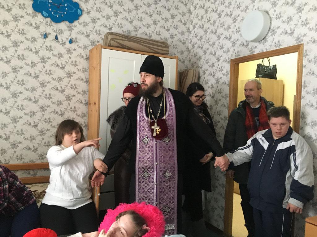 Посещение подопечных московского центра благотворительного общества «Миссионеры милосердия»