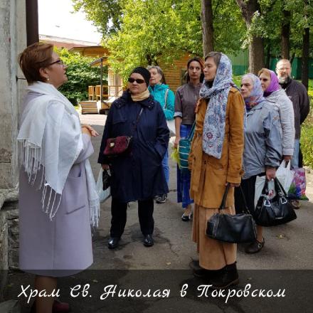 Состоялась первая экскурсия по храмам нашего благочиния